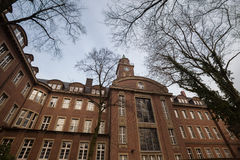 Townhall herne germany. Historic townhall herne germany Stock Photography