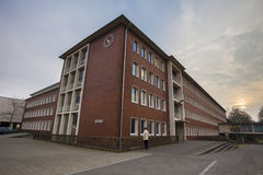 townhall herten Tyskland Arkivbild