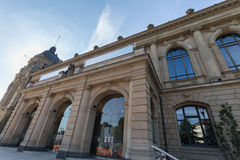 Townhall histórico Wuppertal Alemania Foto de archivo