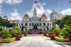Townhall of Ho Chi Minh City Stock Photography