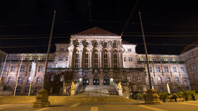 Townhall kassel germany at night Royalty Free Stock Image