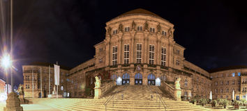 Townhall kassel germany at night Stock Photo