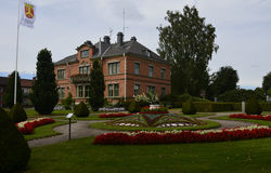 Townhall Katrineholm, Zweden Royalty-vrije Stock Fotografie
