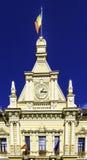 Townhall klocka Royaltyfria Bilder