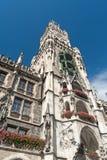 Townhall Monaco di Baviera Immagini Stock Libere da Diritti