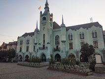 Townhall in Mukachevo royalty free stock photography