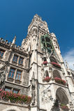 Townhall Munich Royalty Free Stock Images