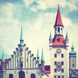 Townhall in Munich Royalty Free Stock Images