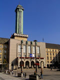 Townhall novo de Ostrava Fotos de Stock