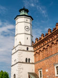 Townhall of old town Sandomierz Stock Images