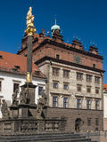 Townhall of Plzen city Stock Photo