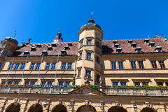 Townhall in Rothenburg ob der Tauber, Germany. Facade of the townhall in Rothenburg ob der Tauber, Bavaria Royalty Free Stock Photo