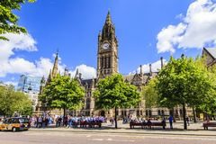 Manchester, Greater Manchester, England. Stock Images