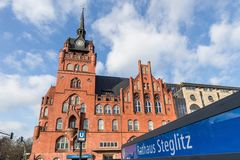 Townhall steglitz Berlin Germany obraz stock