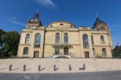 Townhall storico Wuppertal Germania fotografia stock libera da diritti