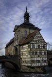 Townhall velho em Bamberga Fotografia de Stock Royalty Free