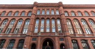 Townhall vermelho Berlim Alemanha Fotos de Stock