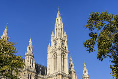 Townhall Vienna Royalty Free Stock Image