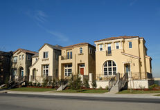 Townhomes Royalty Free Stock Photo