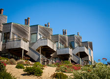 Townhomes above Dune Royalty Free Stock Image