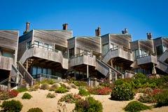 Townhomes acima da duna Fotografia de Stock Royalty Free