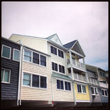 Townhomes by The Beach Royalty Free Stock Photos