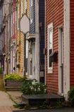 Townhomes colorés photo stock