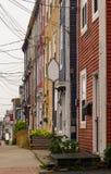 Townhomes colorés image libre de droits