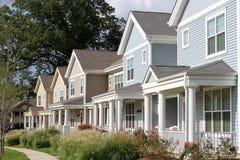Townhomes de ville Image stock