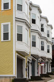 Townhomes with garages Royalty Free Stock Images