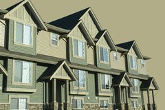 Townhomes Houses Royalty Free Stock Image