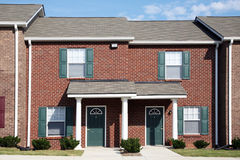 Townhomes Stock Image
