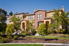 Townhomes Stock Photography