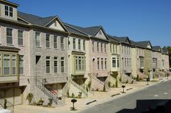Townhomes2 Royalty Free Stock Photos