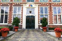 Townhouse μπροστινή πόρτα εισόδων Στοκ φωτογραφία με δικαίωμα ελεύθερης χρήσης