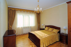 Townhouse bedroom Stock Photo