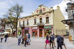 Townhouse called Dom Mangla in Zakopane Royalty Free Stock Photography