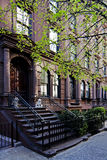 Townhouse do Brownstone Fotografia de Stock Royalty Free