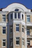 Townhouse do nouveau da arte Imagens de Stock