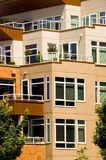Townhouse Elevations Royalty Free Stock Photos