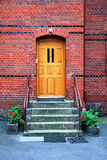 Townhouse Entrance  Door Royalty Free Stock Images