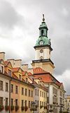 Townhouse in Jelenia Gora. Poland.  Royalty Free Stock Photography