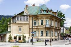 Townhouse Kresy in Zakopane Royalty Free Stock Images