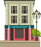 Townhouse shop Royalty Free Stock Photo
