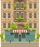 Townhouse shop Stock Photos