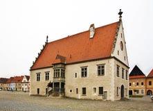 Townhouse  on Town Hall square (Radničné námestie) in Bardejov Royalty Free Stock Image