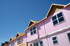 Townhouse Under Construction Royalty Free Stock Photography