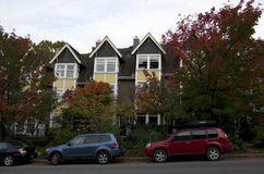 Townhouse Vancouver Royalty Free Stock Image