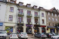 Townhouse in Zakopane Stock Photo