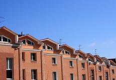 townhouses arkivfoton